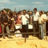 Laying of the foundation stone Macedonia Park & burial of the time capsule